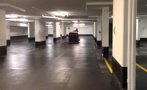 servicio de limpieza en garajes