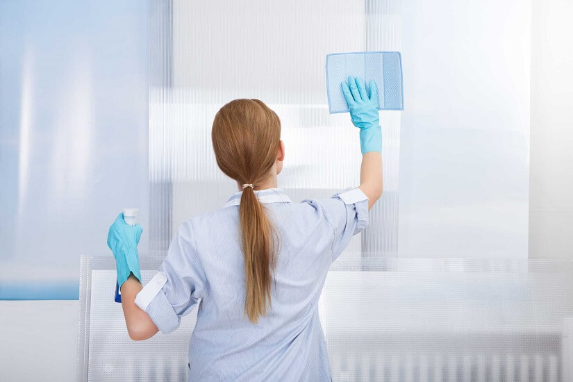 servicios de limpieza en interiores